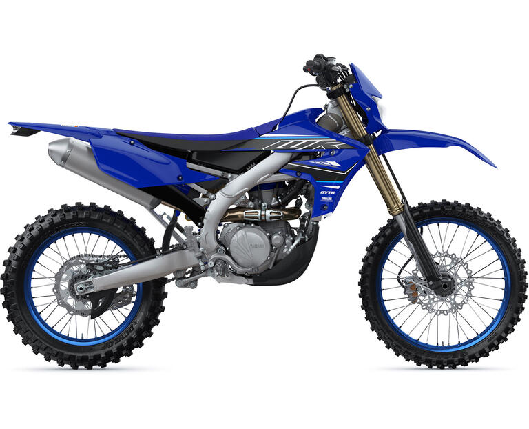 2021 WR450F, color Yamaha Racing Blue