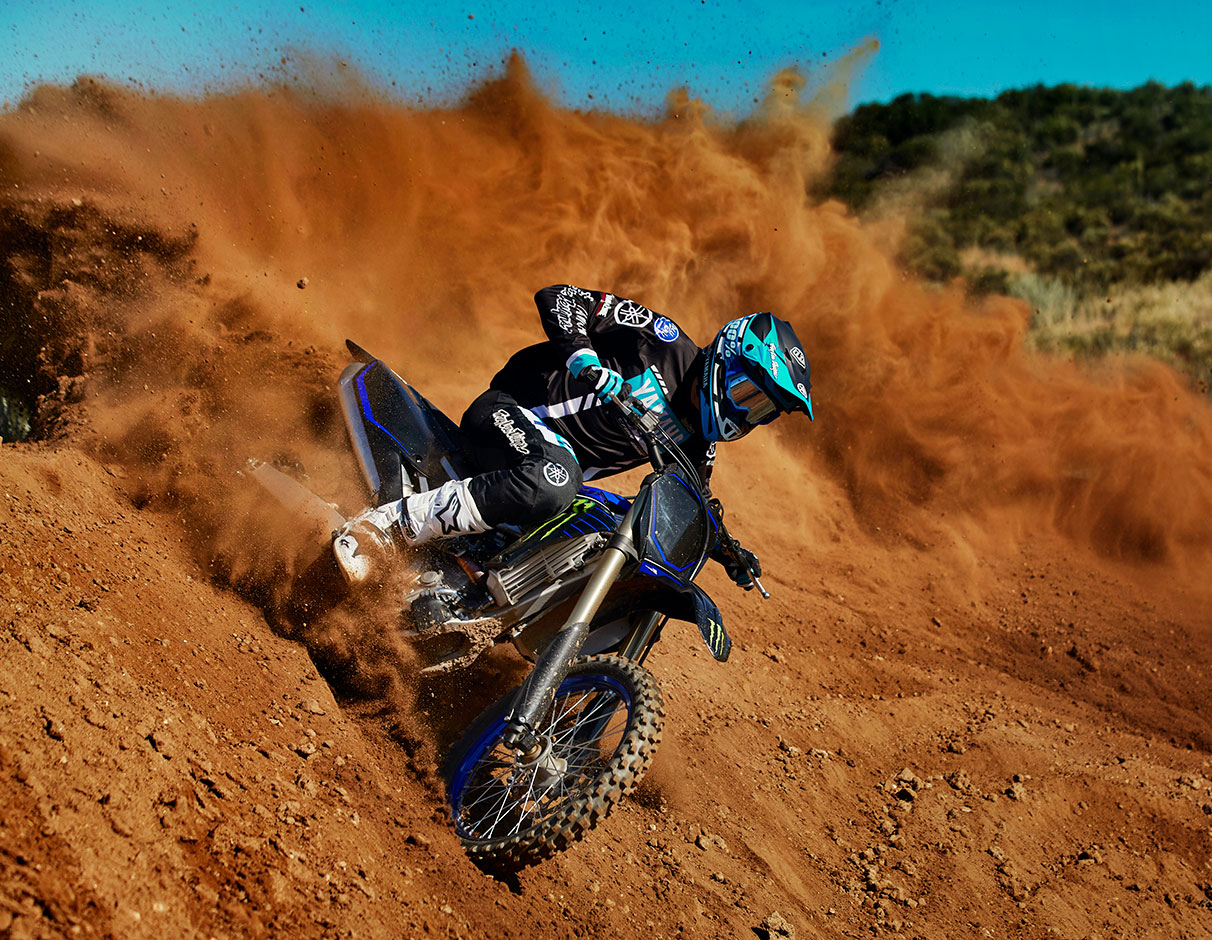 Action image of YZ450F 2021