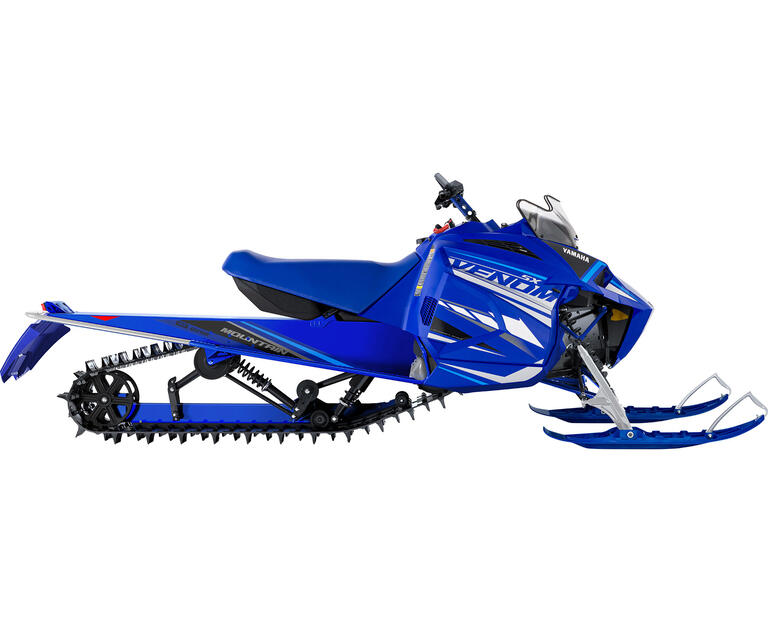 2021 SX Venom Mountain, color Yamaha Racing Blue