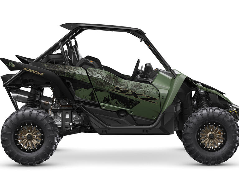 2021 YXZ1000R SS EPS SE2, color Covert Green