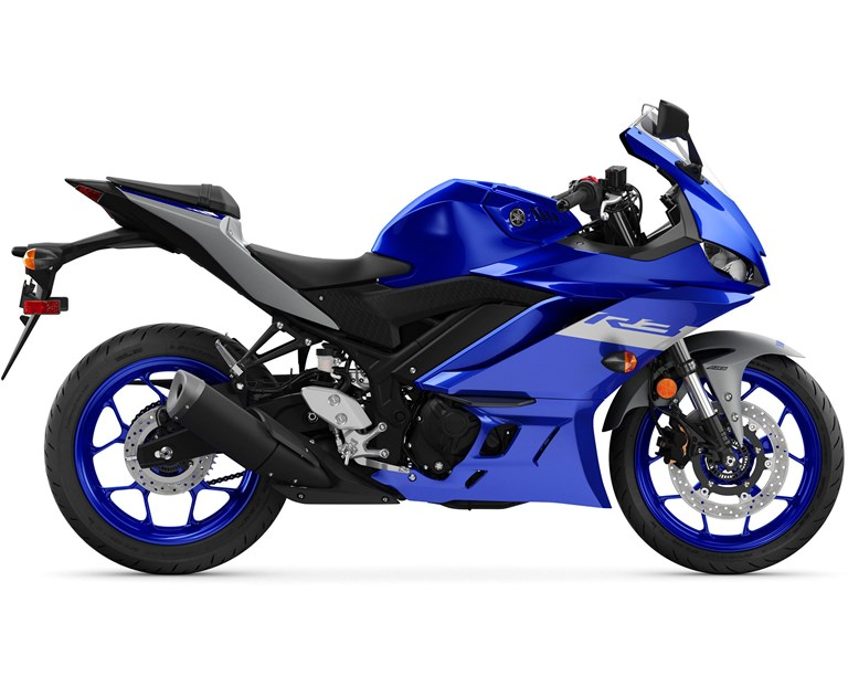 2021 YZF-R3, color Yamaha Racing Blue