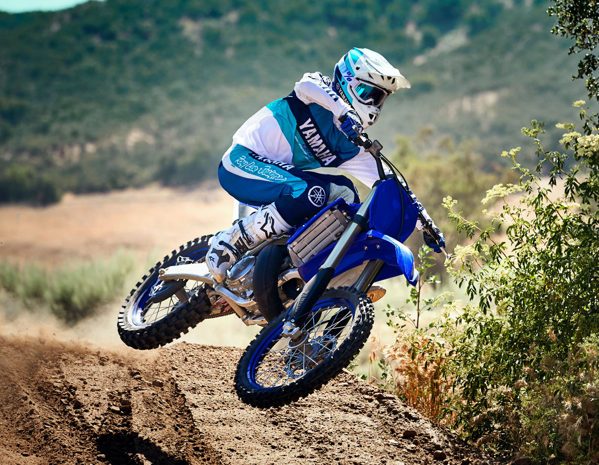 Action image of 2021 YZ250