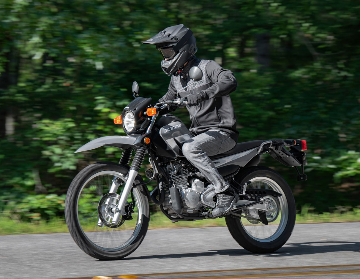 Action image of XT250 2021