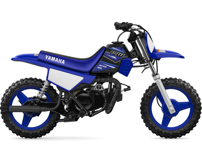 2021 PW50 (2-Stroke), color Yamaha Racing Blue
