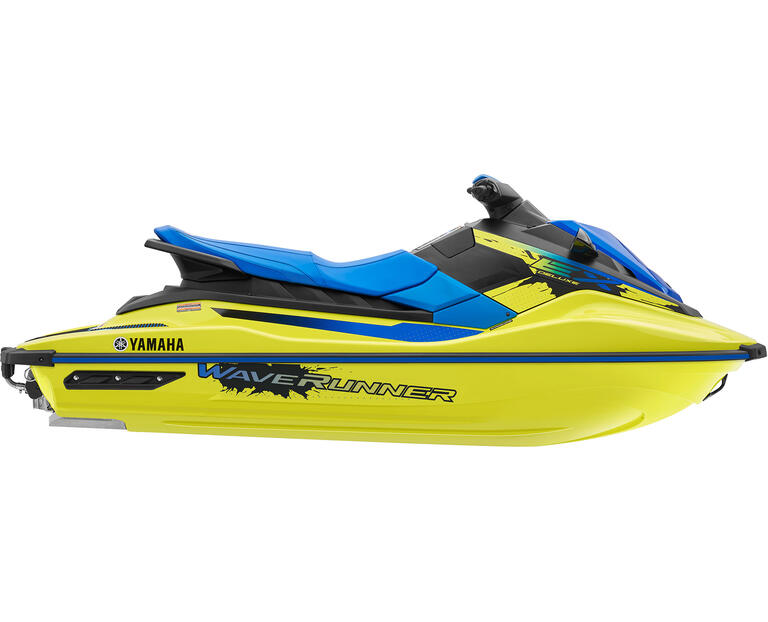 2021 EX DELUXE, color Lime Yellow/Azure Blue