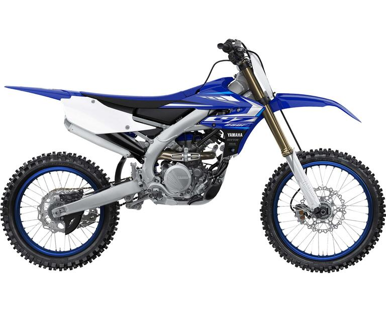 2020 YZ250F, color Yamaha Racing Blue