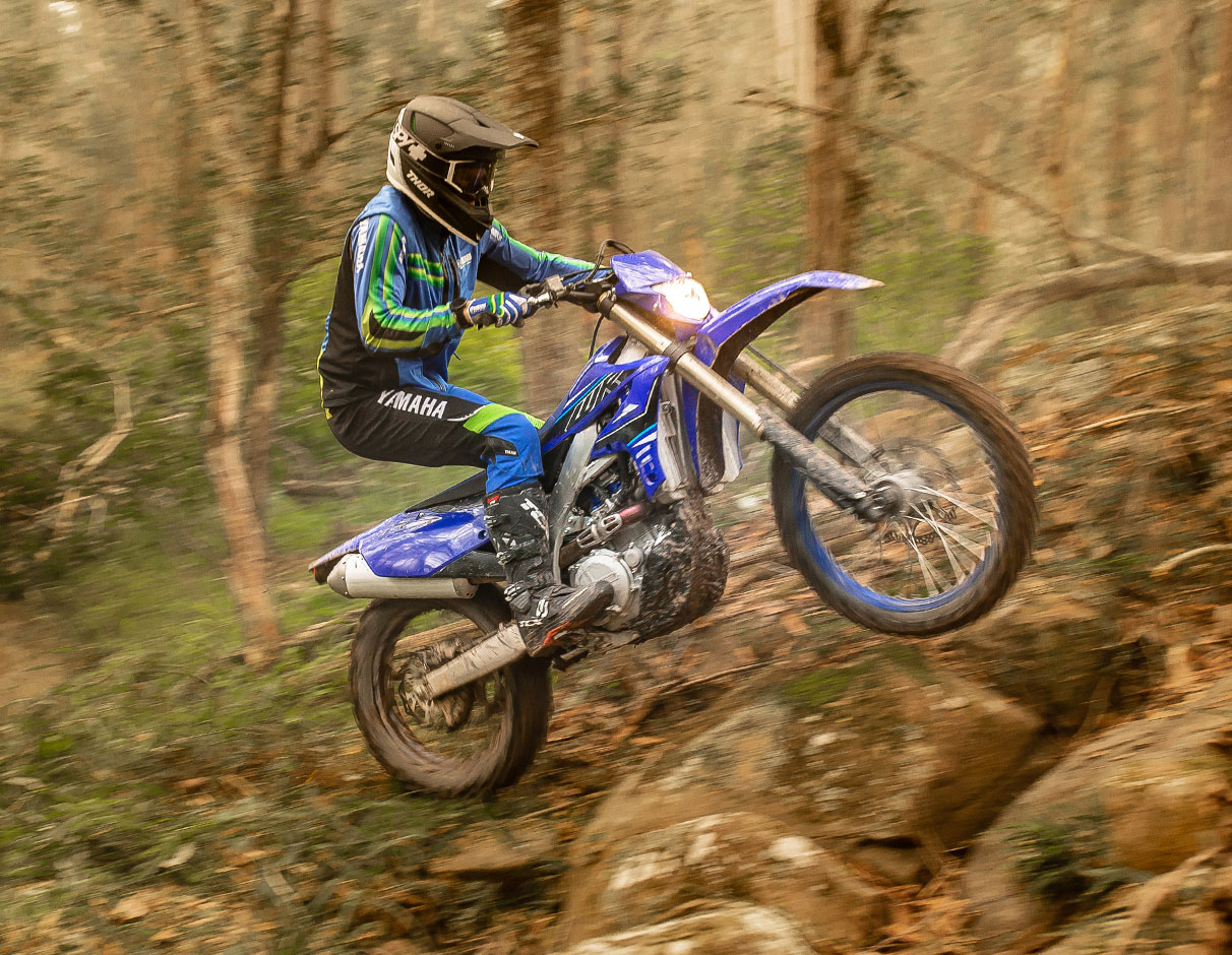 Action image of 2021 WR450F