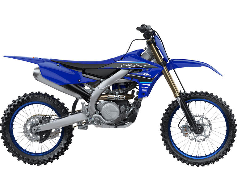 2021 YZ450F, color Yamaha Racing Blue
