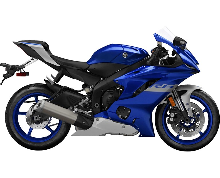 2020 YZF-R6, color Black
