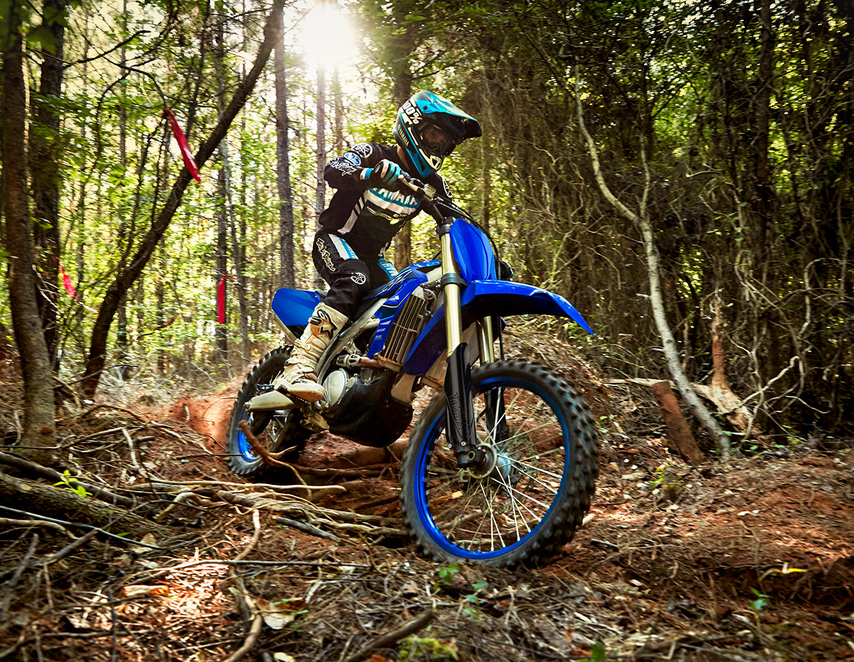 Action image of 2021 YZ250FX