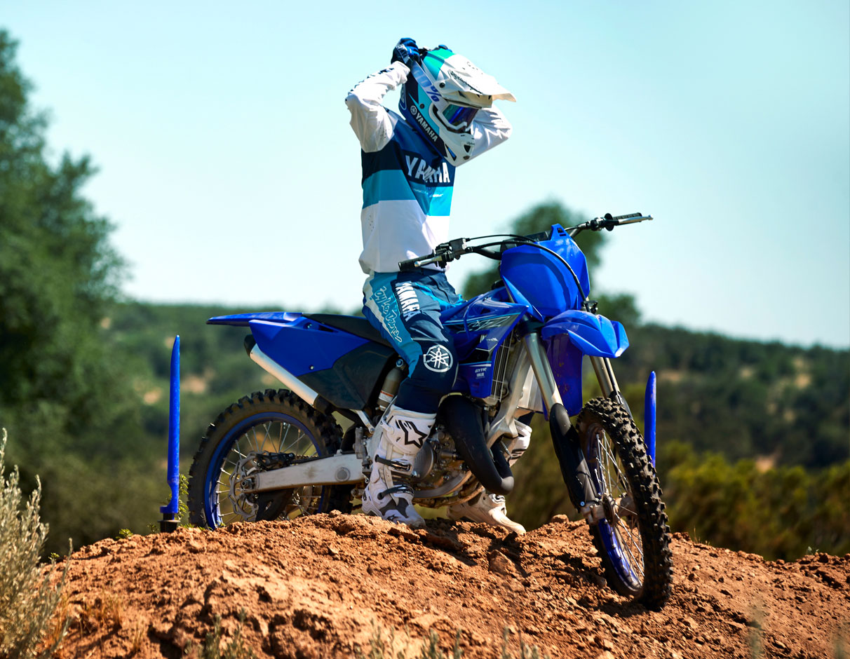 Action image of 2021 YZ125