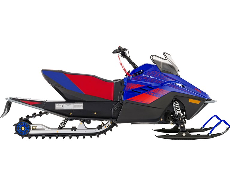2022 Snoscoot ES, color Team Yamaha Blue/Red