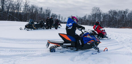 Read Article on 5 Beginner Questions About Snowmobiling