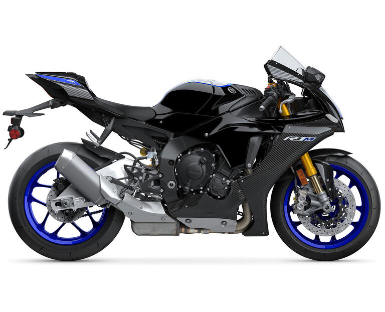 YZF-R1M 2021, color noir