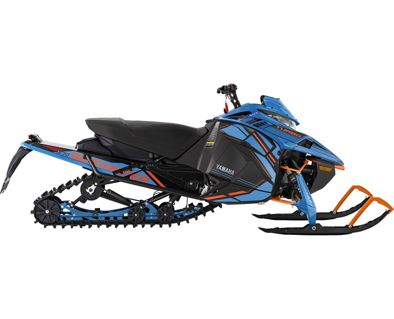 Sidewinder L-TX SE 2022, color Bleu glacé/Orange vif
